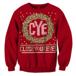 Holiday Wreath Crew Neck Sweatshirt
