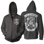 Snake Pit (Black) Zip Up Hoodie