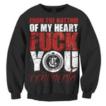 F You Crew Neck Sweatshirt