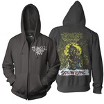 Skin The Living Color Zip Up Hoodie