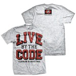 Live By The Code (Ash Grey) T-Shirt