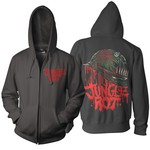Full Metal Rot Zip Up Hoodie