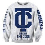 The Code (Ash Grey) Crew Neck Sweatshirt