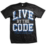 Live By The Code (Black) T-Shirt