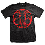 Elephant(Black And Red) T-Shirt