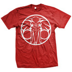 Elephant (Red) T-Shirt