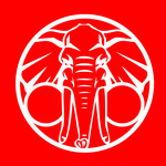 We Are Triumphant - Elephant (Red)