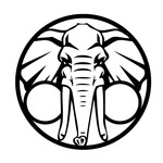 Elephant (White) T-Shirt