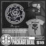 Mindful CD And Choose 1 T-Shirt Package