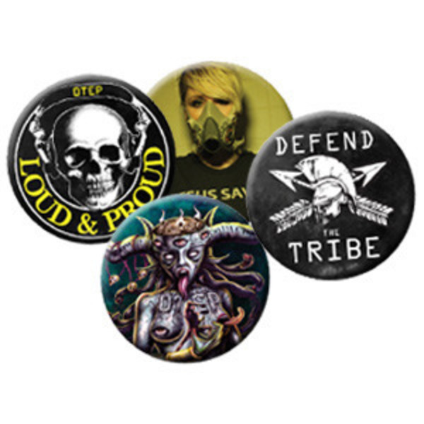 Otep - Atavist 4 Button Set