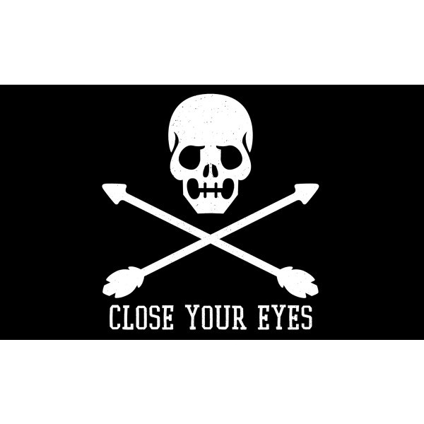 Close Your Eyes - Skull