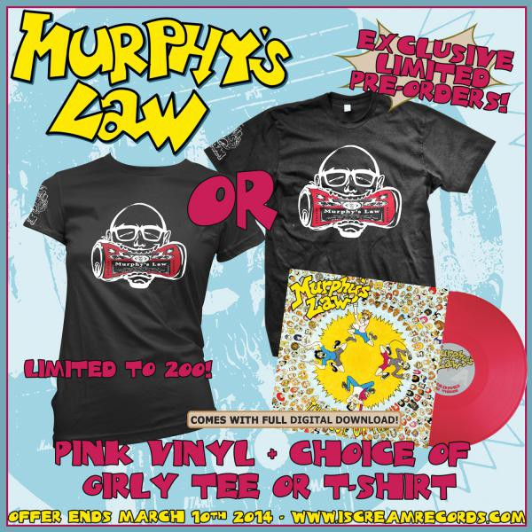 Murphys Law - Best Of Times Shirt and Vinyl