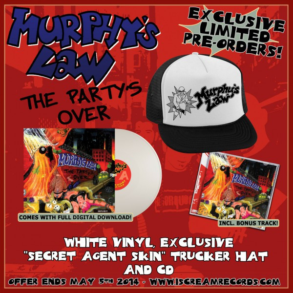 Murphys Law - Trucker Hat, Vinyl And CD