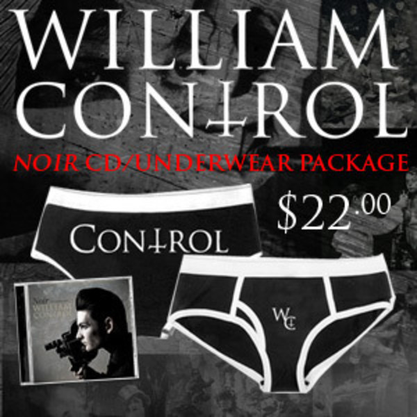 William Control - Noir CD and Underwear