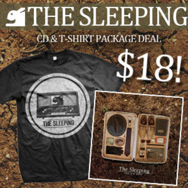 The Sleeping - The Big Deep CD and TShirt