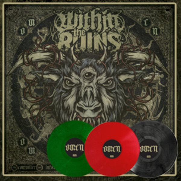 Within The Ruins - Omen Complete Vinyl Set 3 LPs