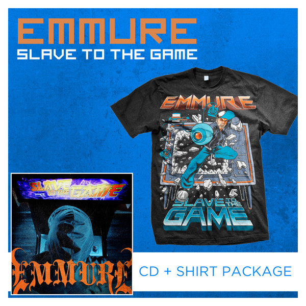 Emmure - Slave To The Game CD + Shirt