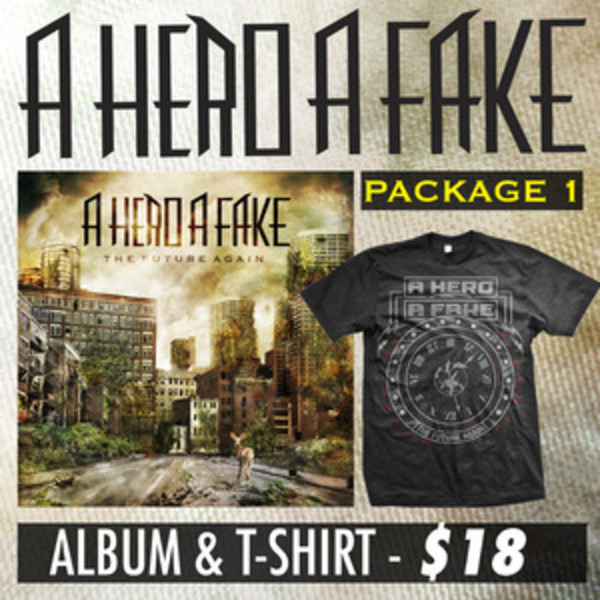 A Hero A Fake - Album And T-Shirt