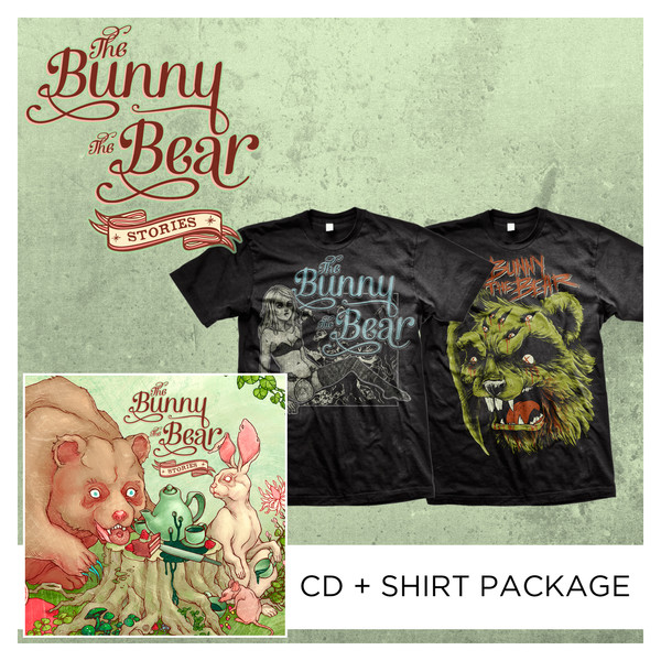 The Bunny The Bear - Stories CD + Shirt