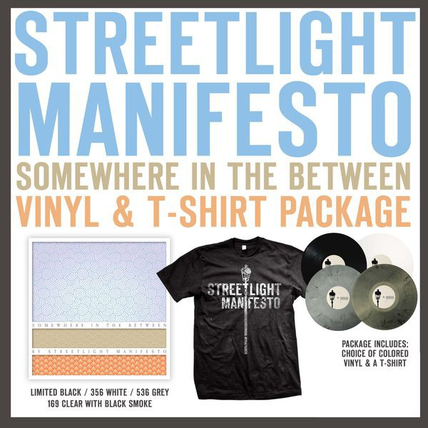 Streetlight Manifesto - Somewhere In The Between Vinyl & T-Shirt