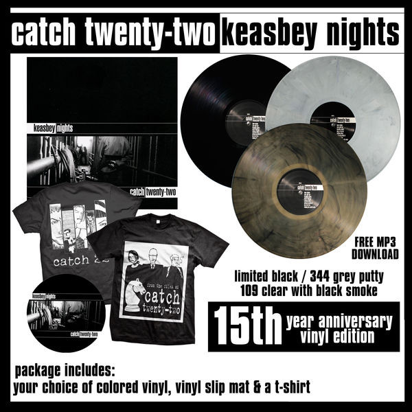 Catch 22 - Keasbey Nights Vinyl, Slip Mat and T-Shirt