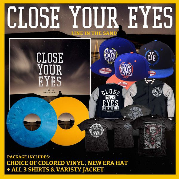 Close Your Eyes - Line In The Sand The Ultimate Vinyl