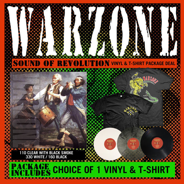 Warzone - Sound Of Revolution Vinyl and Shirt