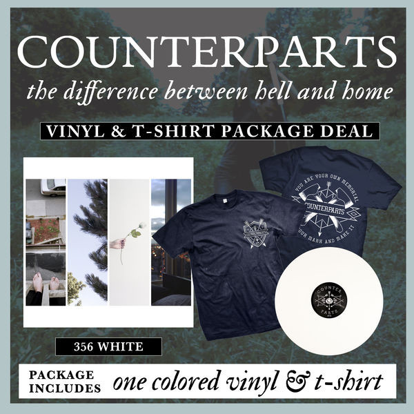 Counterparts - Vinyl And T-Shirt