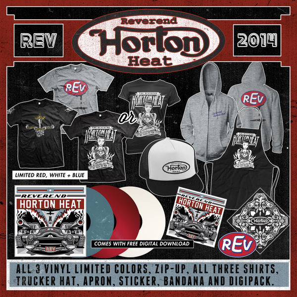 Reverend Horton Heat - The Die Hard REV