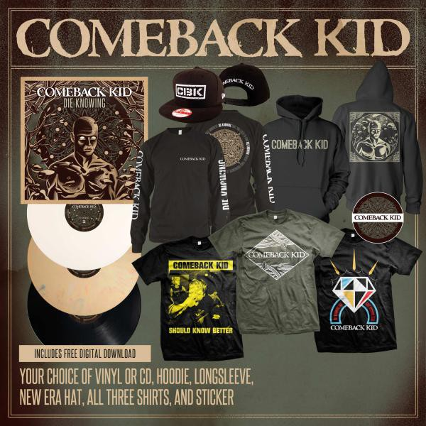 Comeback Kid - The Ultimate Die Knowing