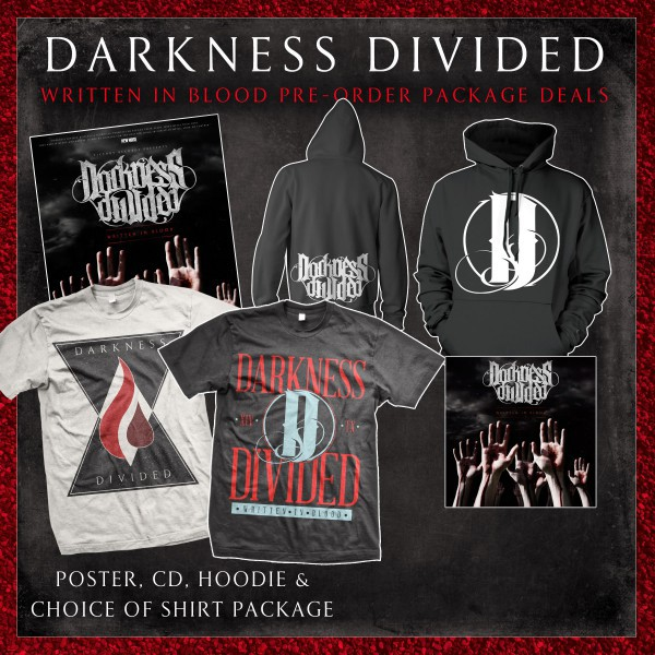 Darkness Divided - CD, Poster, Shirt & Hoodie