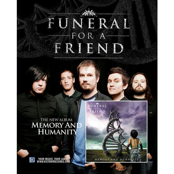 Funeral For A Friend - Memory and Humanity Poster