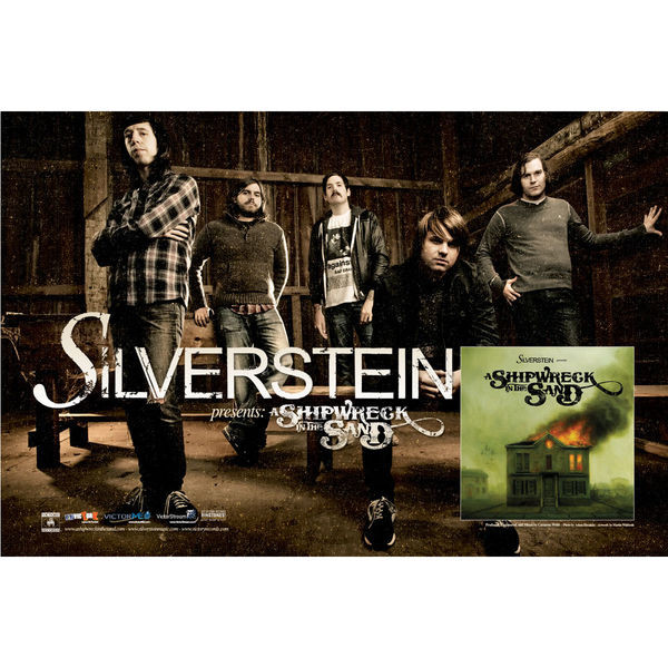 Silverstein - A Shipwreck In The Sand Poster