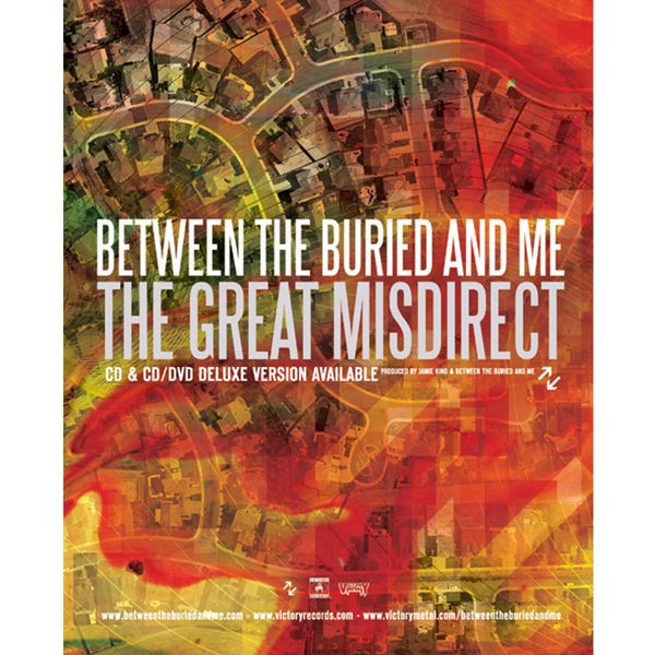 Between The Buried And Me - The Great Misdirect Poster