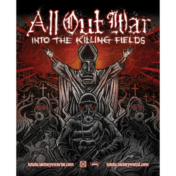 All Out War - Into The Killing Field Poster