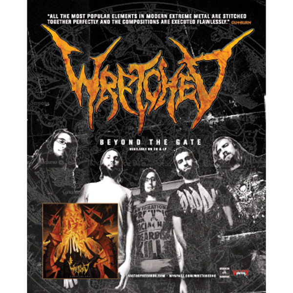Wretched - Beyond The Gate Poster