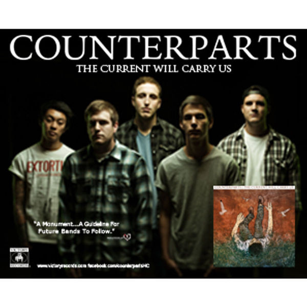 Counterparts - The Current Will Carry Us Poster