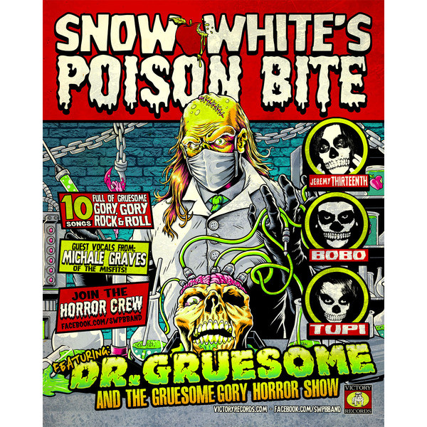 Snow White's Poison Bite - Dr. Gruesome