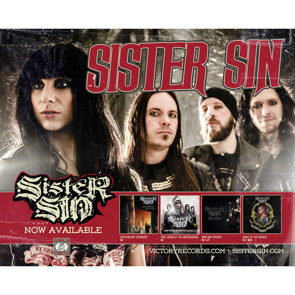 Sister Sin - Discography