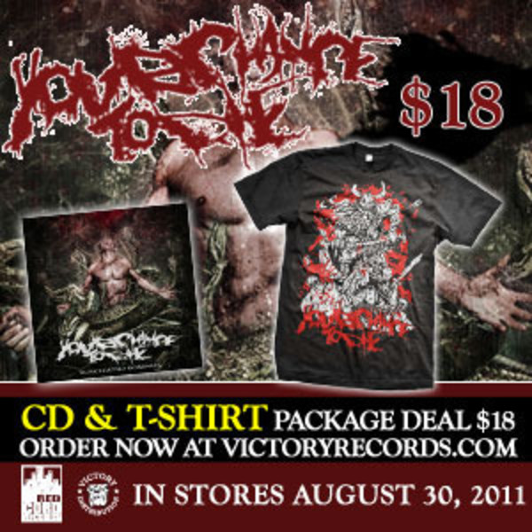 Your Chance To Die - Your Chance To Die CD And Tshirt