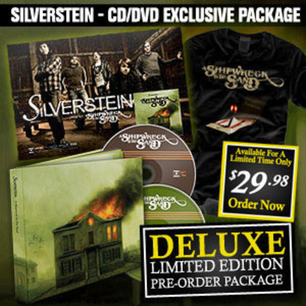 Silverstein - A Shipwreck In The Sand - Deluxe CD/DVD -