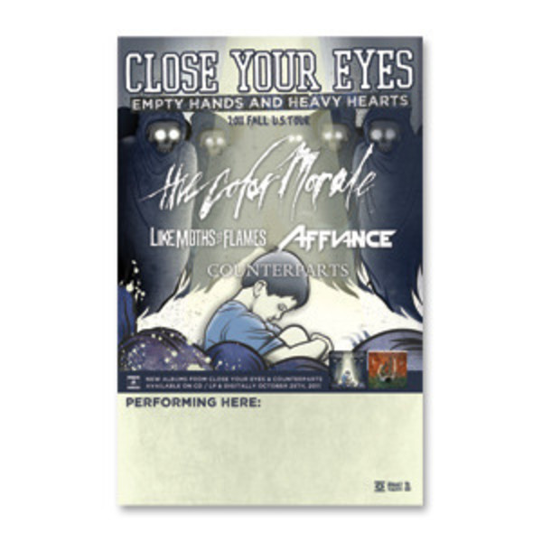 Close Your Eyes - Empty Hands And Heavy Hearts Tour