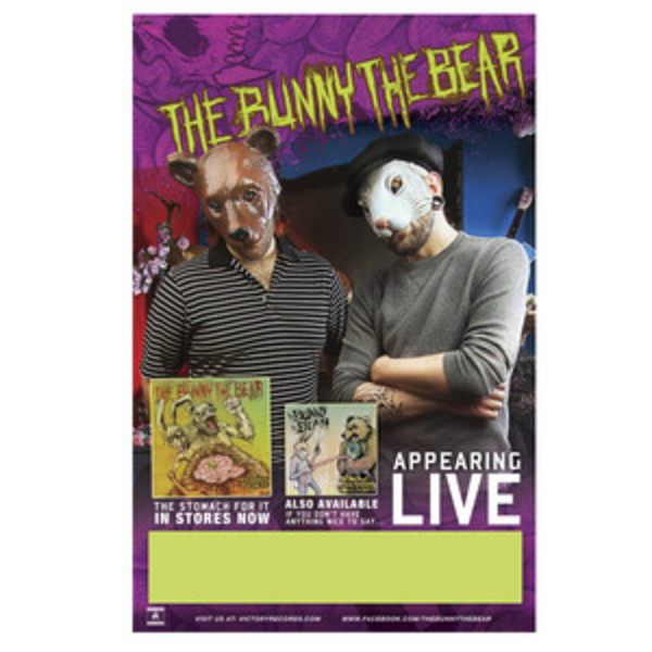 The Bunny The Bear - The Stomach For it Tour