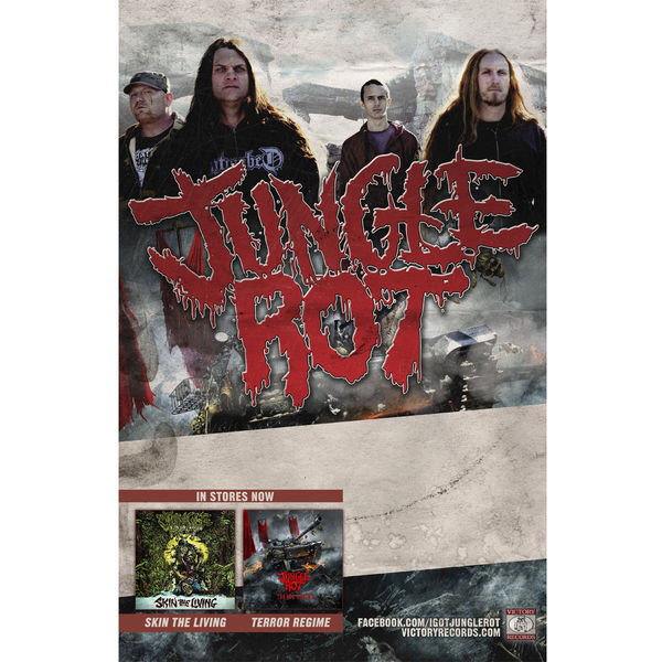 Jungle Rot - Tour