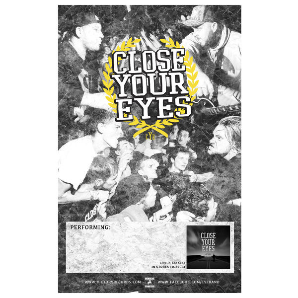 Close Your Eyes - Tour