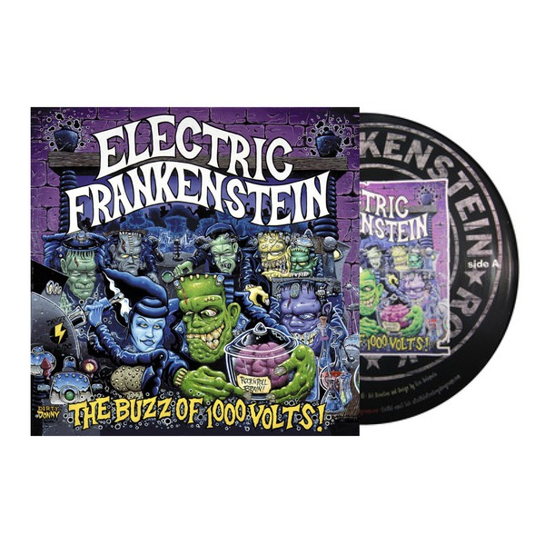 Electric Frankenstein - The Buzz OF A Thousand Volts