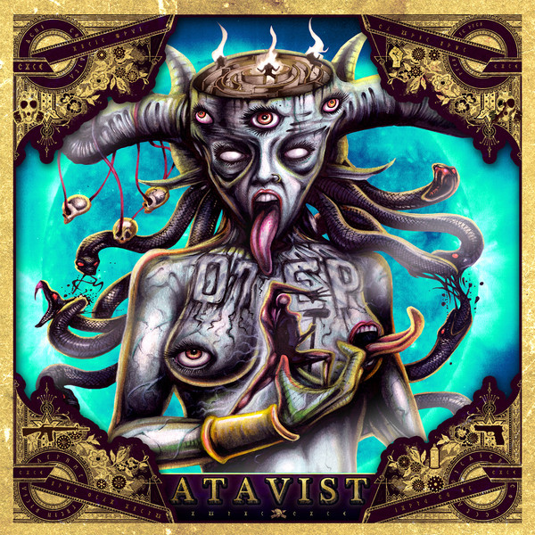 Otep - ATAVIST (Deluxe Edition) CD & DVD