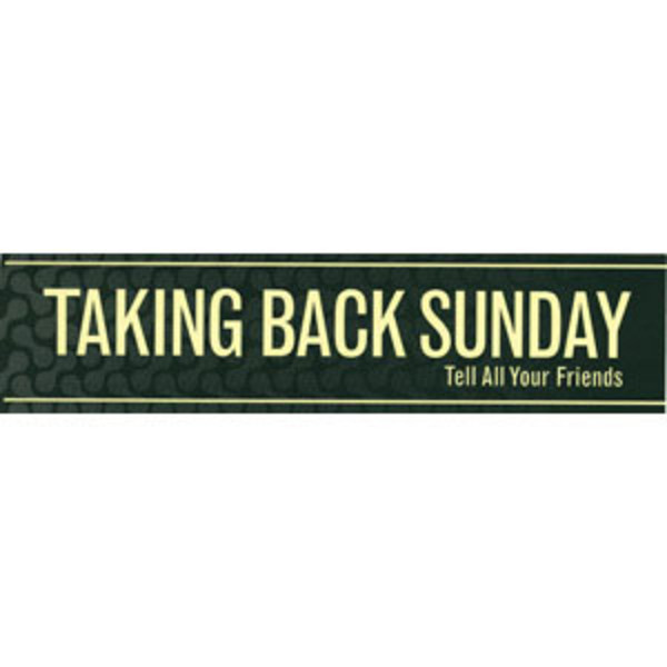 Taking Back Sunday - Logo