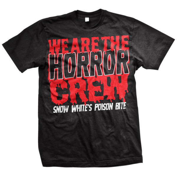 Snow White's Poison Bite - Horror Crew (Red And Black)