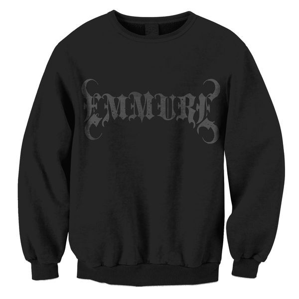 Emmure - Logo (Black on Black)